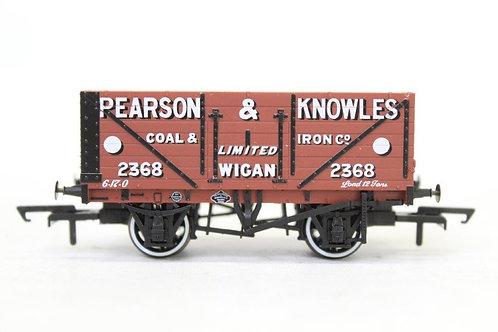 Oxford Rail 7 Plank Open Wagon 'Pearson & Knowles' T3