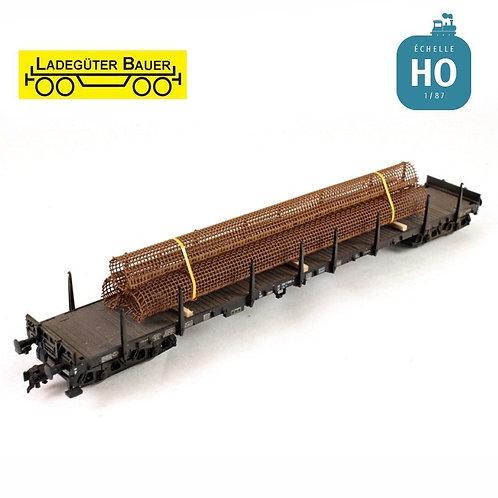 Rusty Reinforcing Mesh Load BAH01228