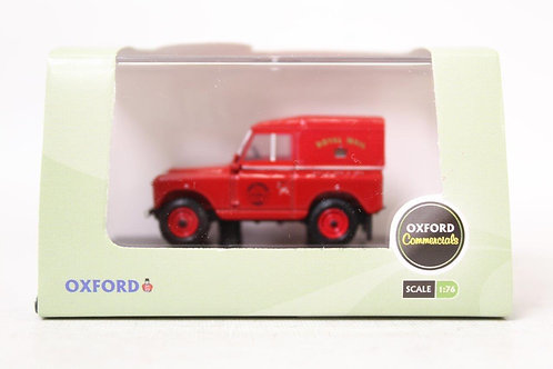 Oxford Land Rover Series II SWB Hard Back 'Royal Mail' U8