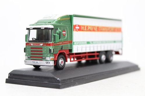 Oxford Scania 94D Curtainside H E Payne C19