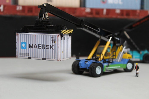 Maersk Weathered 20ft Card Container