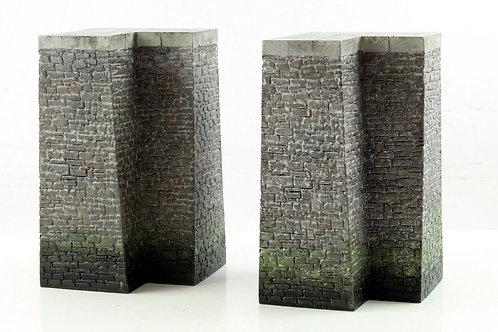 Bachmann 44-570 Quayside Corners x 2 (N12)