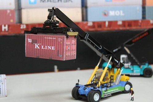 K Line Weathered 20ft Card Container