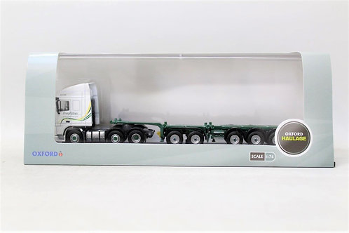 Oxford DAF03CT DAF Freightliner Container Skeletal Trailer Lorry B15