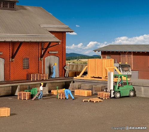 Kibri 38628 Timber Pallets Transport Set (B9)