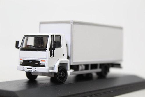 Oxford Ford Cargo Box Van White Lorry N8