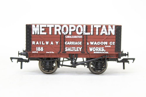 Bachmann 37-150K 8 Plank Fixed End Open Wagon 'Metropolitan' E19
