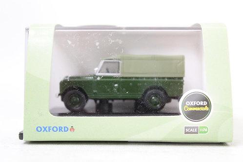 Oxford Land Rover Series II Bronze Green Canvas Top U8