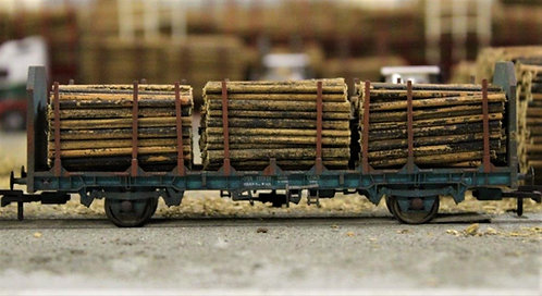Small Diameter Timber Logs 40mm - 1 Wagon Load