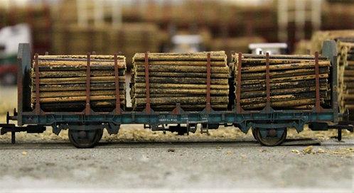 Small Diameter Timber Logs 40mm - 1 Wagon Load