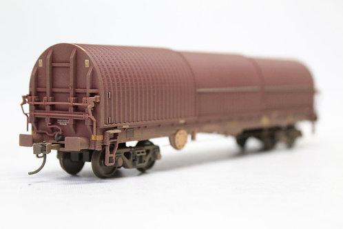 Bachmann 37-628B EWS BRA Steel Strip Carrier Wagon OO Gauge (Q11)