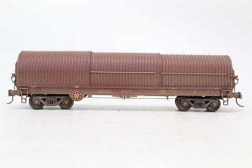 Bachmann 37-628A BRA Steel Strip Carrier Wagon EWS Weathered N23