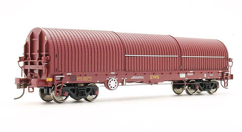 Bachmann 37-627 EWS 102T Thrall BYA Steel Strip Carrier Wagon OO 1/76 (Q11)