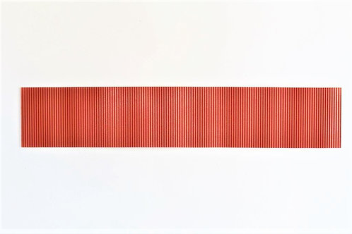 40mm x 200mm Red Oxide Corrugated Panel