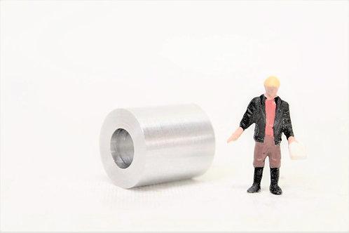 Plain Metal Coil Loads (x5) 16mm by 18mm