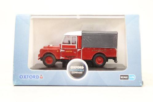 "Oxford Land Rover Series 1 109"" Frame Canvas Back U9"