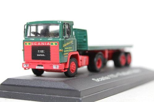 Atlas  Scania 110 Flat Bed 'Eddie Stobart' Lorry B13