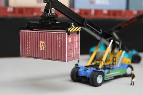 MSC Weathered 20ft Card Container