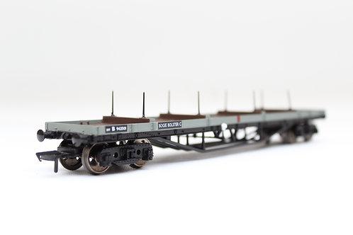 Bachmann 33-856B 30t Bogie Bolster BR Grey Wagon (F10)