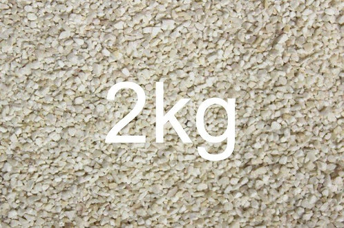1mm White Rail Ballast - 2kg