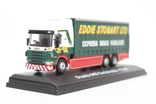 Atlas Oxford Scania 94D Curtainside 'Eddie Stobart' Lorry U7