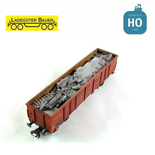 Scrap Concrete Rubble Load BAH01233