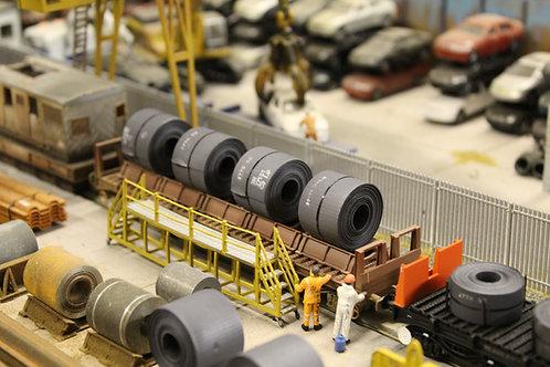 Bulkscene 25mm Steel Coils (x4)