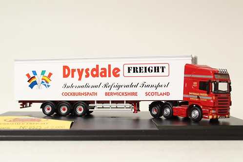 Oxford Drysdale Freight Scania Fridge Lorry D4