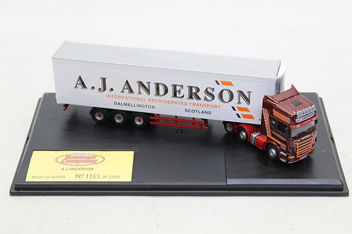 Oxford Scania A J Anderson Fridge Lorry D11
