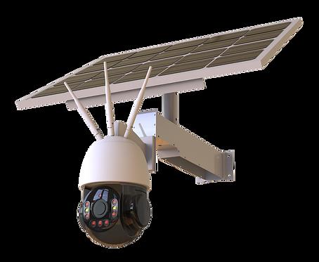 Solar PTZ Camera (Wi-Fi & 4G) 20X Zoom 3MP