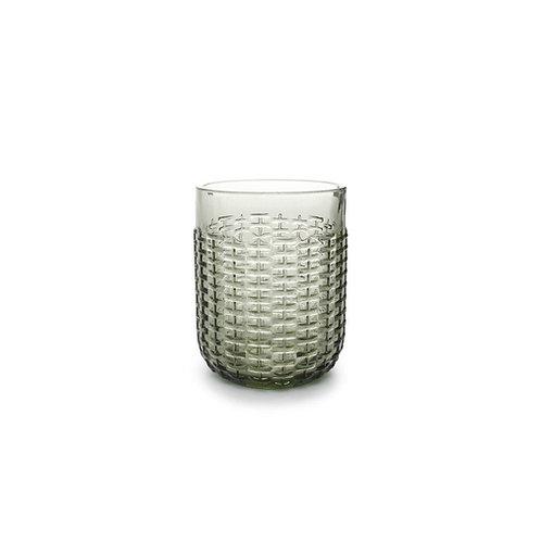 Glas 41cl groen Carbo - set/4