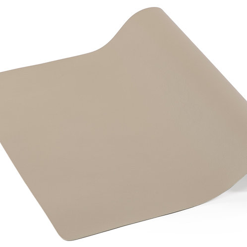 Tafelloper - Leather look imitation  45X145cm taupe