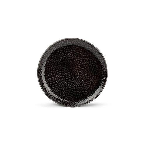 Plat bord 15,5cm zwart Mielo