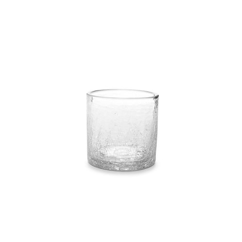 Glass 22cl Crackle