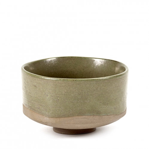 BOWL MERCI N°1 MEDIUM D12,5 GROEN