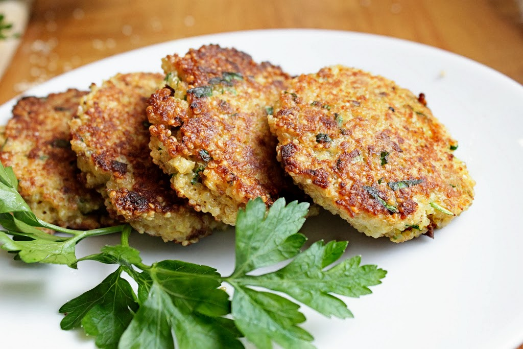 quinoa patties 1