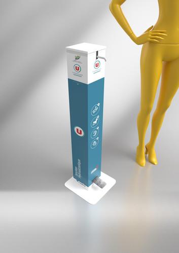 Distributeur Gel Hydroalcoolique - FV Co