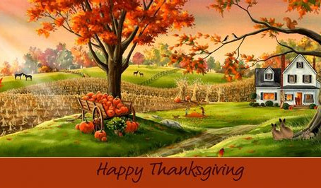 Happy Thanksgiving To All!