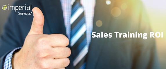 Sales Training ROI