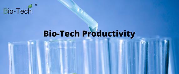Bio-Tech Productivity