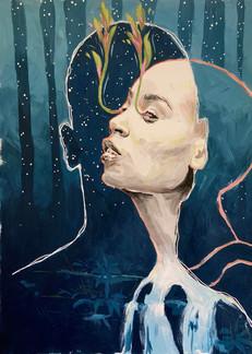 Flow Forth // Saya Zeleznik — Fine Art