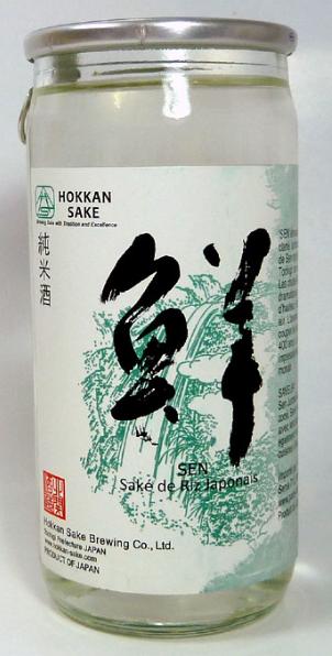"""Sake """"Hokkan sake"""" junmai 14.8%"""