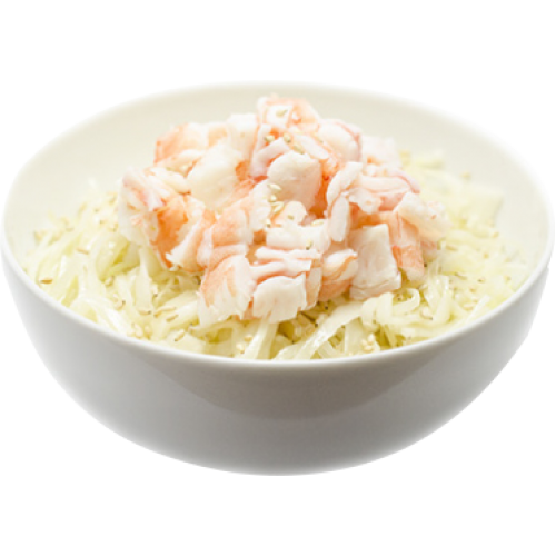 Salade-de-choux-crevettes  8.90€