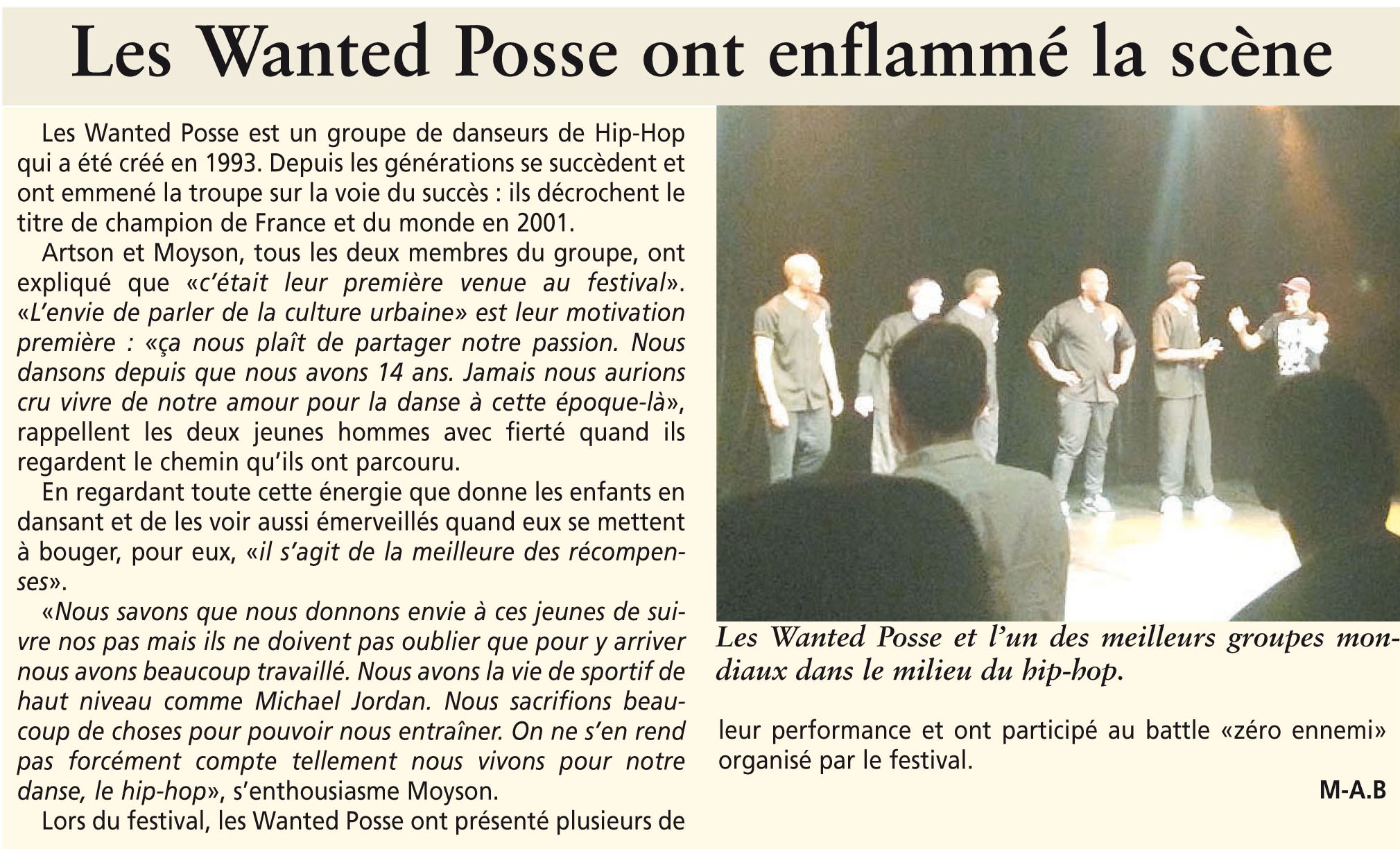 pont emergences wanted