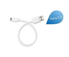 Daysy 2.0 oplaad kabeltje los bestellen.