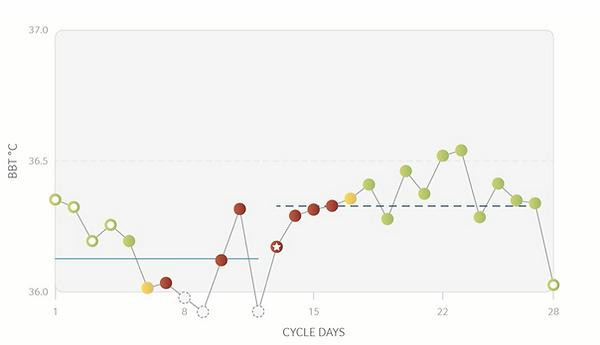 lage gemiddelde temperaturen daysy cyclu