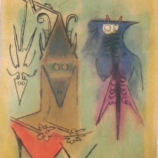 Arbre de plumes, from the series Pleniluna