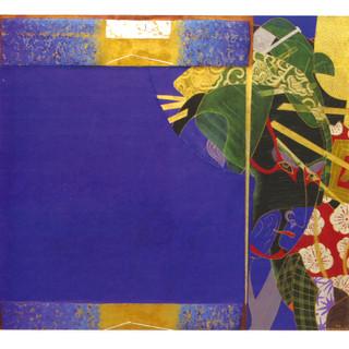 Blue Kabuki