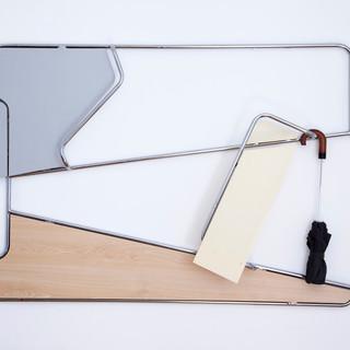 Diagonal Wood Umbrella