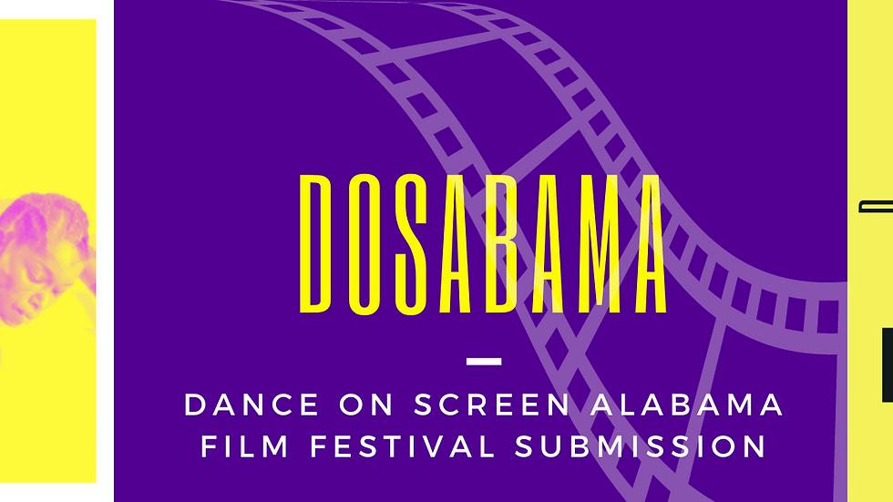 DOSABAMA FILM FESTIVAL SUBMISSION FEE